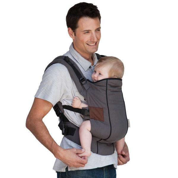 how to put on a baby carrier infantino