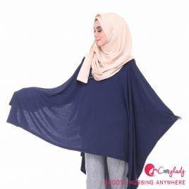 Nursing Cape – Dark Blue