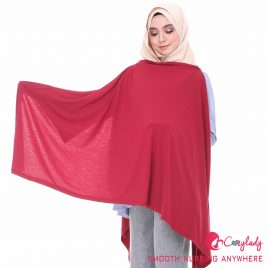 Nursing Cape – Maroon