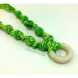 Nursing Necklace – Stitches Knit Lime