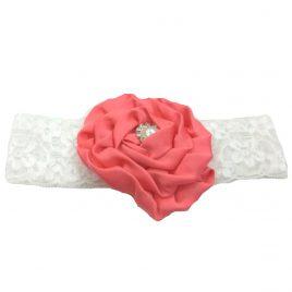 Baby Headband – Peach
