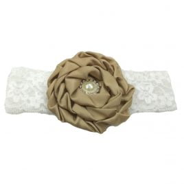 Baby Headband – Brown