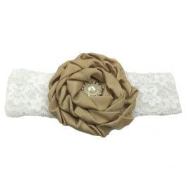 Baby Headband – Brown