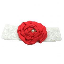 Baby Headband – Red
