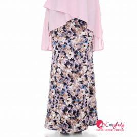 Printed Skirt – Purple