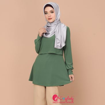 Basic Blouse – Green