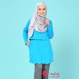 Scallop T – Sky Blue