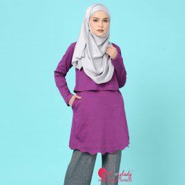 Scallop T – Purple