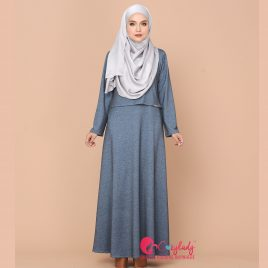 Ossitocina Jubah – Dusty Blue