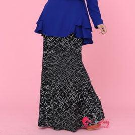 Monochrome Skirt – Polka Dot