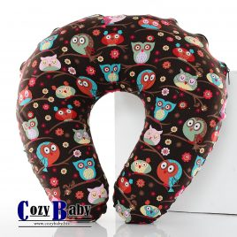 Nursing Pillow – Brown Owl