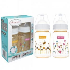 Autumnz – PPSU 8oz Twin Bottle – Dandelion