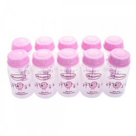 Autumnz – Storage Bottle Pink (10pcs)
