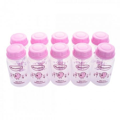 autumnz storage bottle pink
