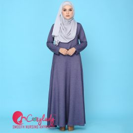 Ossitocina Jubah – Purple