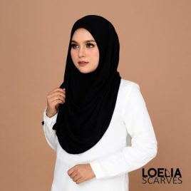 Basic Instant Shawl – Black