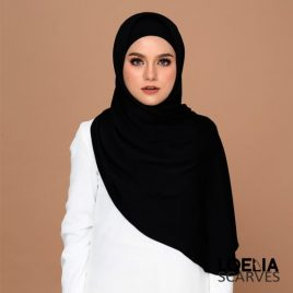 Basic Long Shawl – Black
