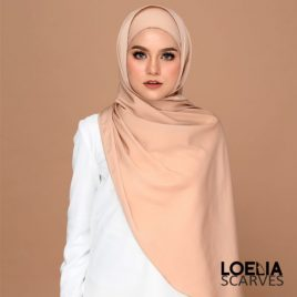 Basic Long Shawl – Latte