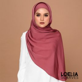 Basic Long Shawl – Rosewood