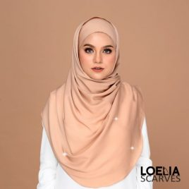 Swarozski Long Shawl – Latte