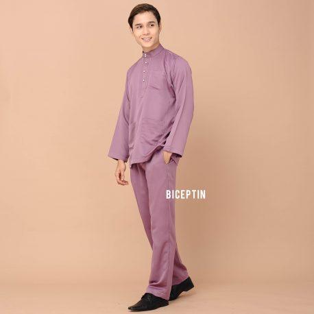 baju melayu lilac 2