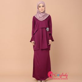 Cape Kurung – Purple