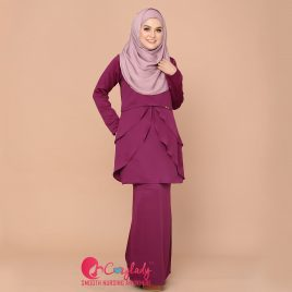 [Pre-order] Colostra Kurung – Purple