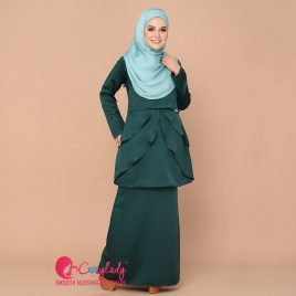 Colostra Kurung – Emerald