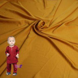 [Pre-order] Kids Baju Melayu – Mustard