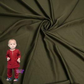 [Pre-order] Kids Baju Melayu – Olive