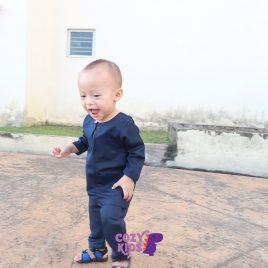 Kids Baju Melayu – Navy