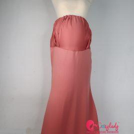 Maternity Skirt – Salmon Pink