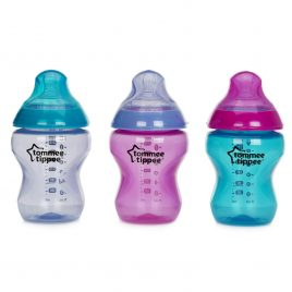 Tommee Tippee – 3 Bottles Colour My World