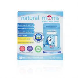 Natural Moms – 5 boxes Blue Breastmilk Bag 100ml