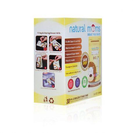 natural moms breastmilk bags 100ml 5
