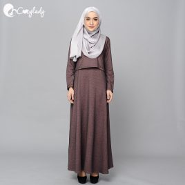 Ossitocina Jubah – Brownish Salmon