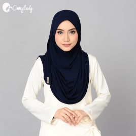 Antisoma Shawl – Navy