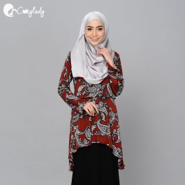 Fishtail Printed – Paisley