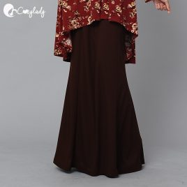 [Pre-order] Fishtail Skirt – Brown