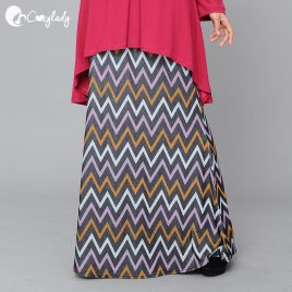Fishtail Skirt – Chevron Pink