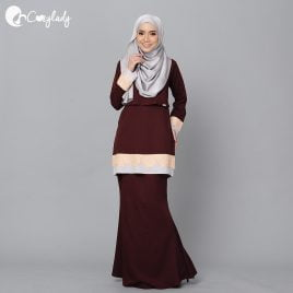 Lacey Kurung – Brown