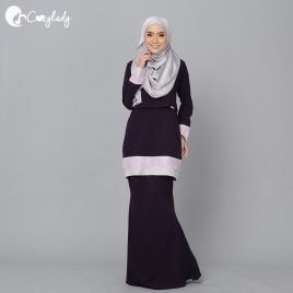 Lacey Kurung – Purple