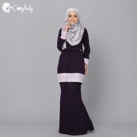 Lacey Kurung – Purple