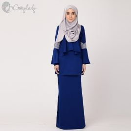 Galactagorgeous Kurung – Royal Blue