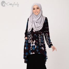 Fishtail Printed – Midnight