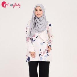 blouse menyusu printed selak