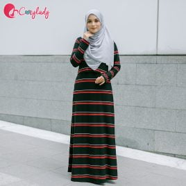 Ossitocina Jubah – Stripe Black