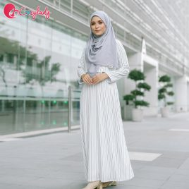Ossitocina Jubah – Stripe White