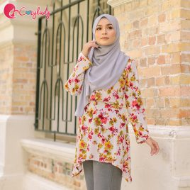 Estran Printed – Red Floral