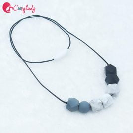 Nursing Necklace – Grey